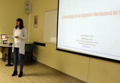 Experta abordó fenómeno de la migración y su impacto en el sistema de salud