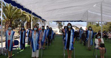 Carreras de Enfermería y Kinesiología de la UCN Coquimbo cuentan con nuevos profesionales